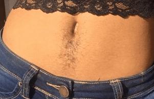 Волосы на животе у женщин – можно ли избавиться от них навсегда?