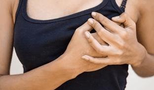 сильно болит грудь после выкидыша