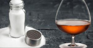 раствор соли и коньяка как приготовить