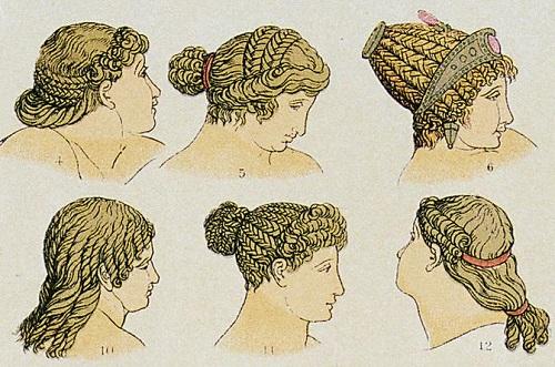 как ухаживали за волосами в древности
